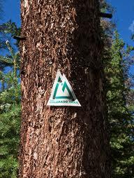 Colorado Trail Marker
